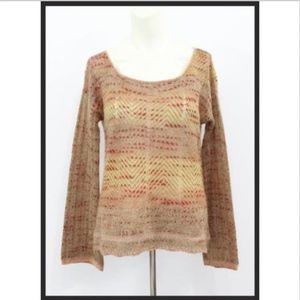 FB Mohair Blend Knit Sweater long sleeves